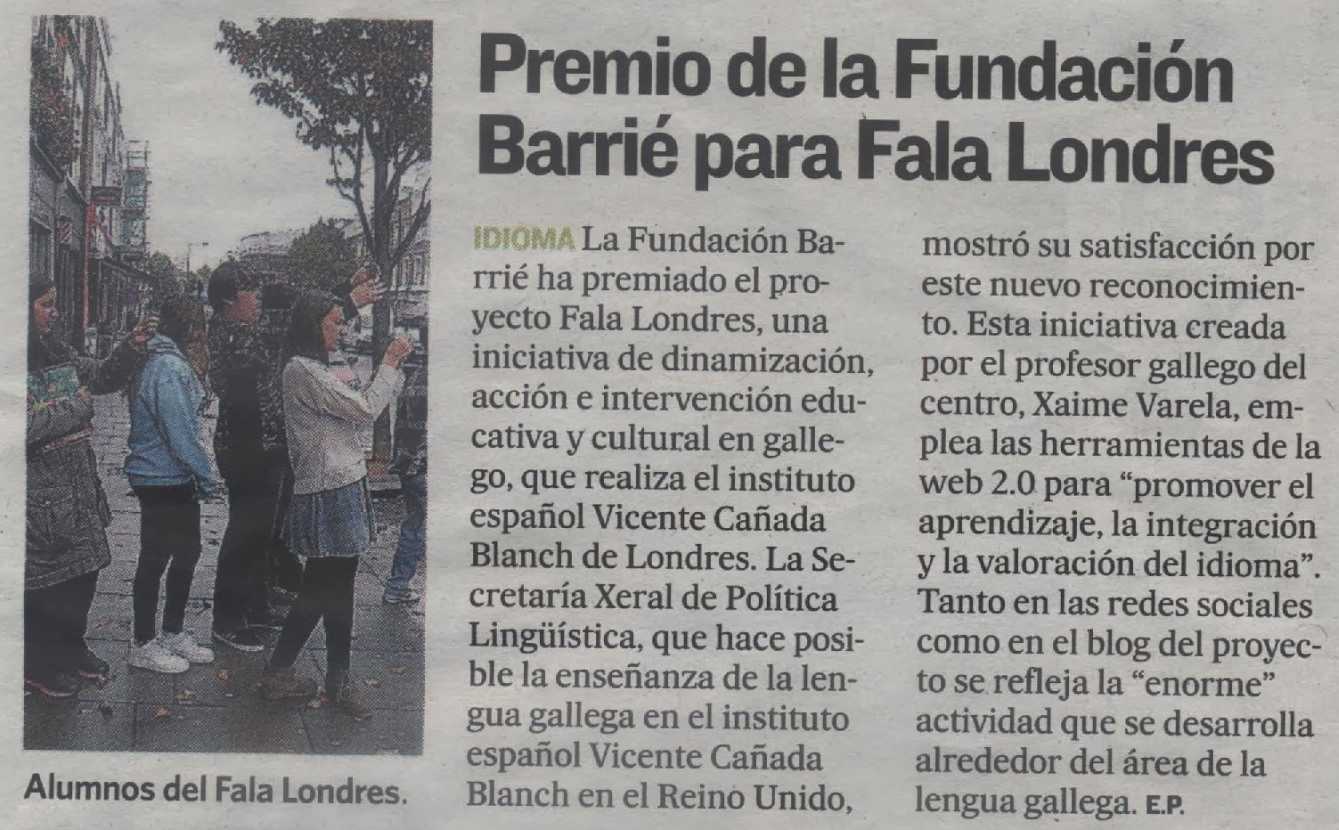 Correo Gallego - 20.01.2014