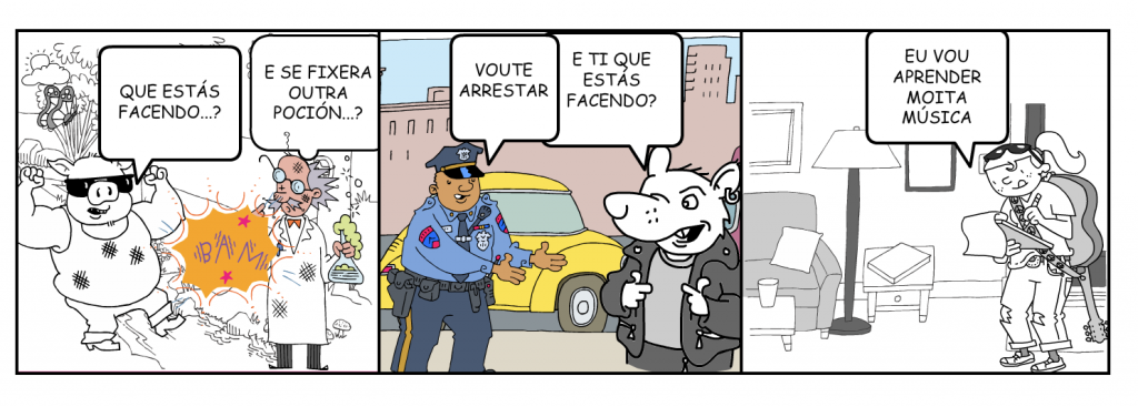 comic dani