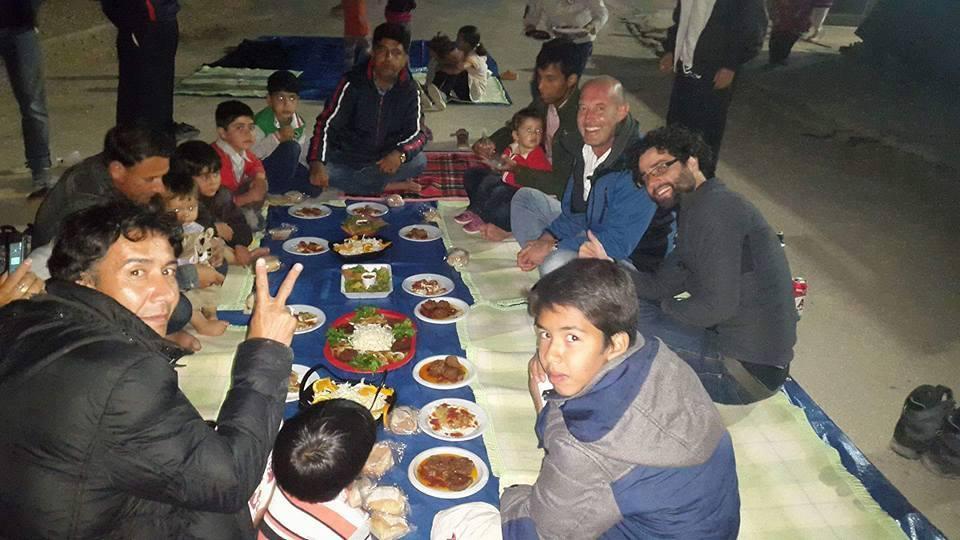 O que os refuxiados anceian é unha vida normal, unha cea coa familia, cos amigos...